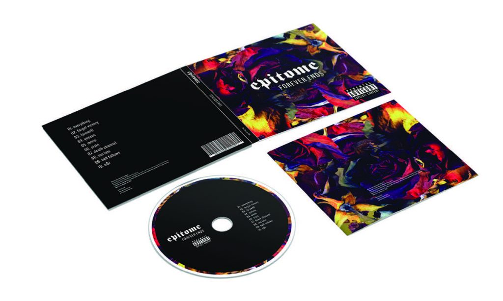 Mockup and design of a CD