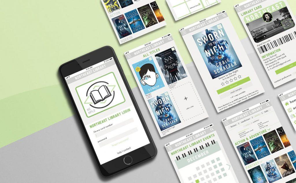 Mockup and design of UI