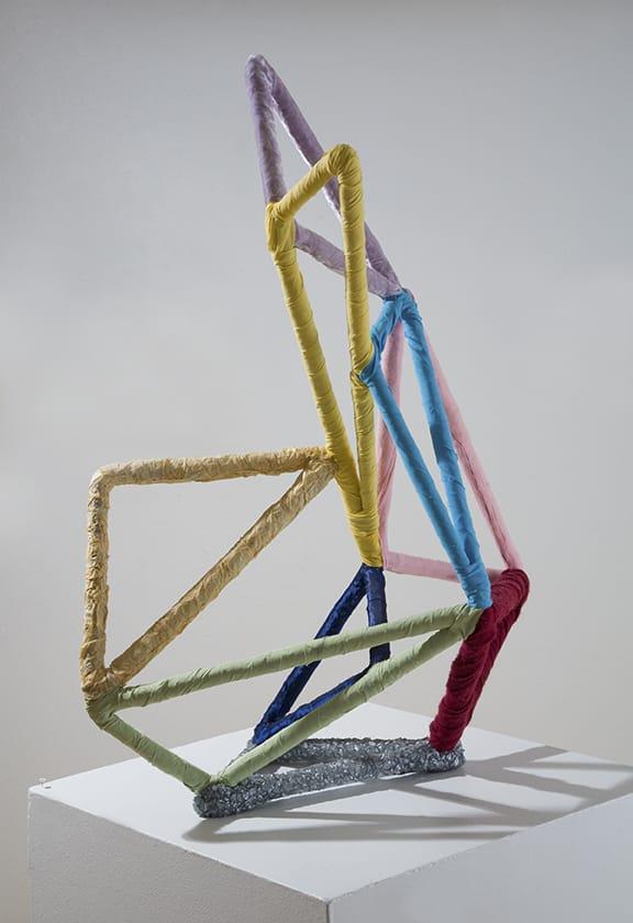An abstract sculpture