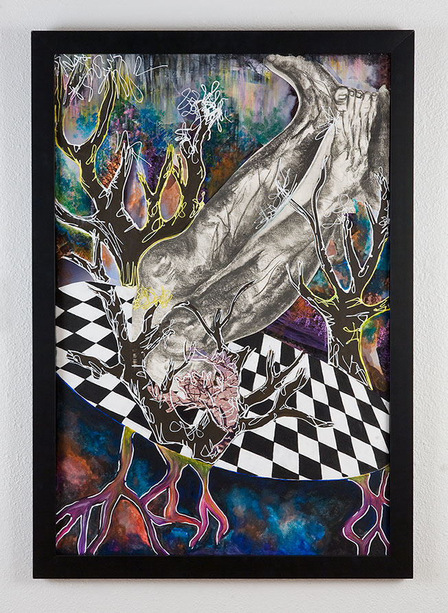 An abstract print