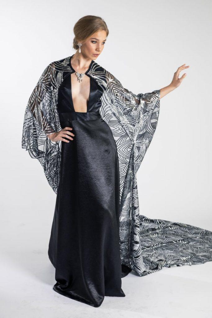 Fashion design of a dress